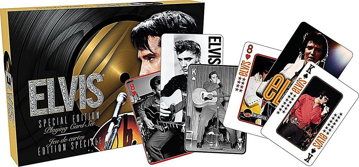 Elvis Presley Special Edition double set of 52 playing cards (+ jokers) (nm)