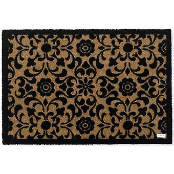 Doormat dirt trapping pad pastel ornament Brown 50 x 70 cm. 102136