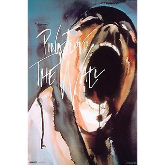 Pink Floyd - le mur affiche Poster Print