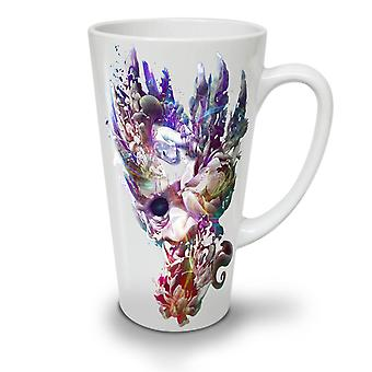 Art Face Mystic Fashion NEW White Tea Coffee Ceramic Latte Mug 17 oz | Wellcoda