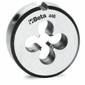 440 ASF3/4 Beta 3/4unf X 50.8mm/2in O/d Round Dies Made From Chrome-steel