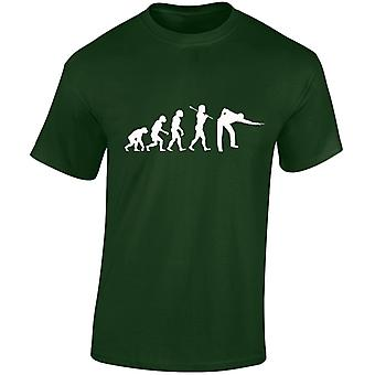 Snooker Evolution Mens T-Shirt 10 Colours (S-3XL) by swagwear