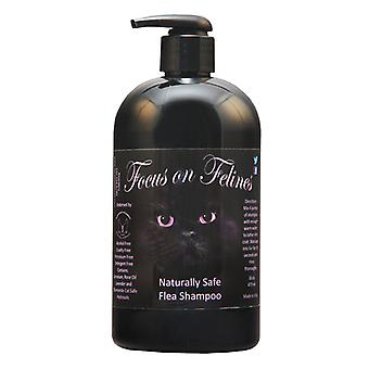 Focus On Felines Naturally Safe Flea Shampoo 532ml