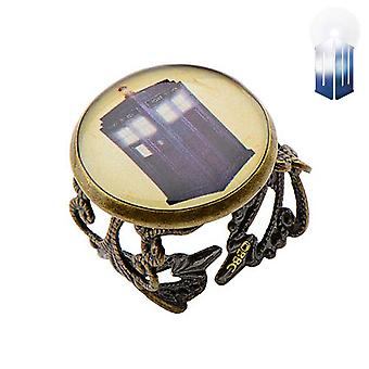 Doctor Who Tardis anel
