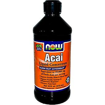 Now Foods Acai Liquid Concentrate 473 ml (Witaminy i suplementy , Superfoody)