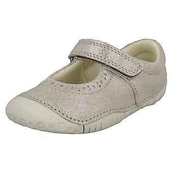 Girls Startrite Casual Shoes Cruise - Silver Nubuck - UK Size 3.5F - EU Size 19.5 - US Size 4.5