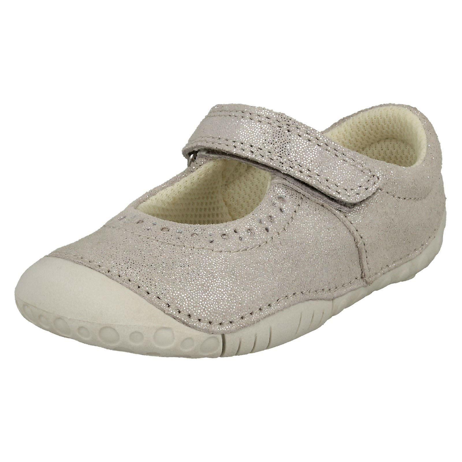 Girls Startrite Casual Shoes - Cruise - Silver Nubuck - Shoes UK Size 3.5F - EU Size 19.5 - US Size 4.5 0dfe73