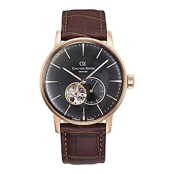 Carl of Zeyten men's watch wristwatch automatic Brigach CVZ0022RBK