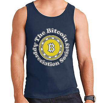 The Bitcoin Appreciation Society Men's Vest