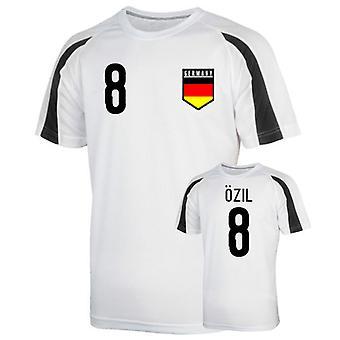 Germany Sports Training Jersey (ozil 8) - Kids