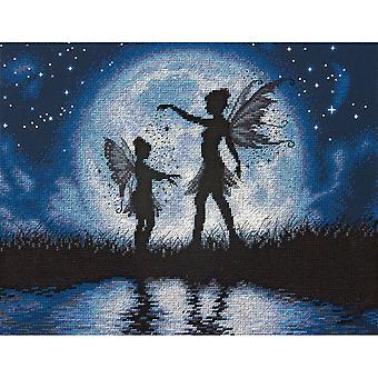 Twilight-Silhouette gezählt Cross Stitch Kit
