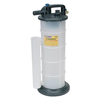 Sealey Tp6903 Vacuum Oil And Fluid Extractor Air Operated 9Ltr