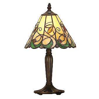 Wnętrza 1900 Jamelia pojedynczego światła Mini Tiffany Tabl
