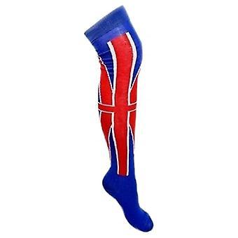 Union Jack porter des chaussettes longues Union Jack