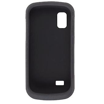 Wireless Solutions Silicon Gel Case for Samsung SGH-A887 (Black)