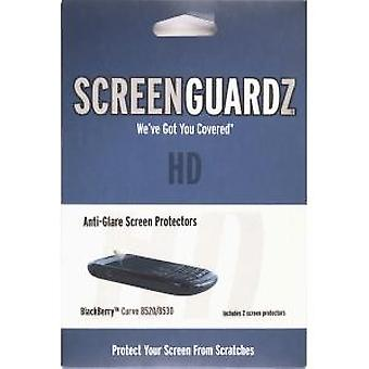 BodyGuardz ScreenGuardz HD Anti Glare Screen Protector voor BlackBerry 8520 Curve