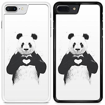 Panda Custom Designed Printed Phone Case For Samsung Galaxy S7 edge Panda08 / White