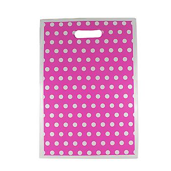 TRIXES 32 x 22cm Party Loot Bags 8 Pack Pink