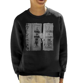 TV Times Alfred Hitchcock At The Rovers Return 1964 Kid's Sweatshirt