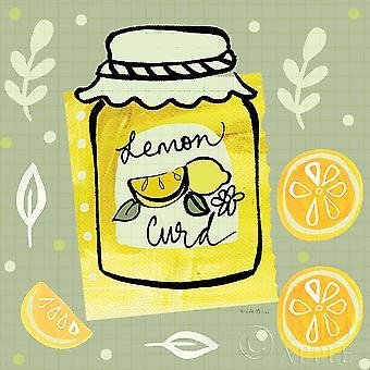 Pretty Jams and Jellies III Poster Print by Farida Zaman