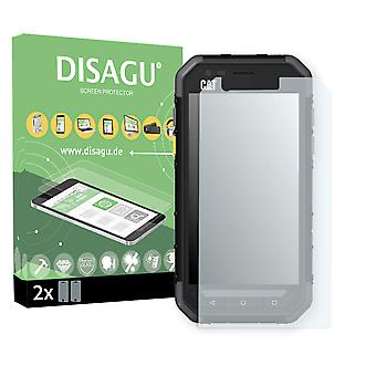 Cat S30 screen protector - Disagu flexible tempered glass protective film