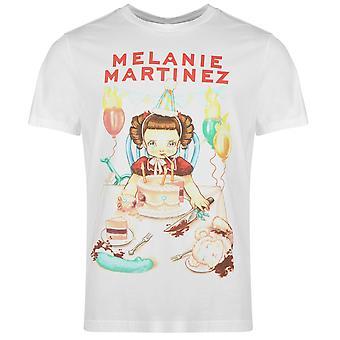 Officiella Mens Melanie Martinez T Shirt Crew Neck Tee Top Kortärmad bomull