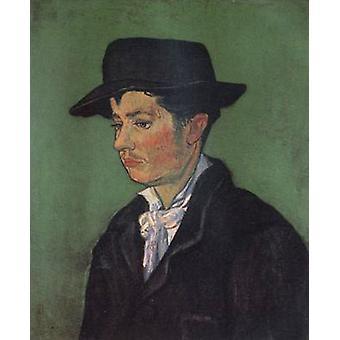 Portrait of Armand Roulin, Vincent Van Gogh, 65x54cm