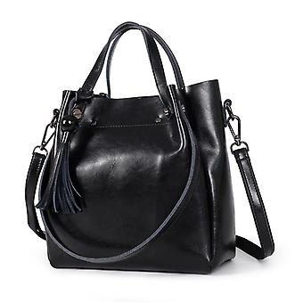 Handbag in genuine cow leather K322S