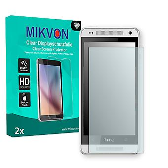 HTC One mini Screen Protector - Mikvon Clear (Retail Package with accessories)