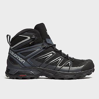 New Salomon Men's X Ultra 3 GORE-TEX® Weatherproof Mid Walking Hiking Boots Black