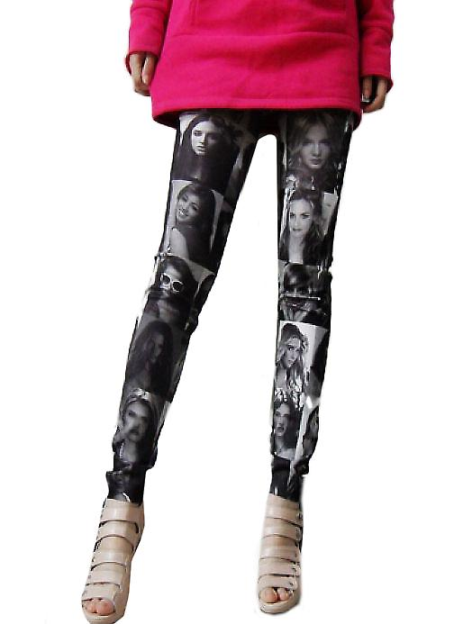 Waooh - Mode - Legging motif photographies
