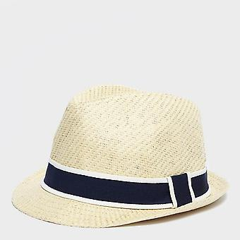Peter Storm Men's Straw Trilby Hat