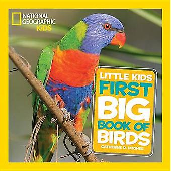 Små barn stora boken fåglar av National Geographic - 9781426324321