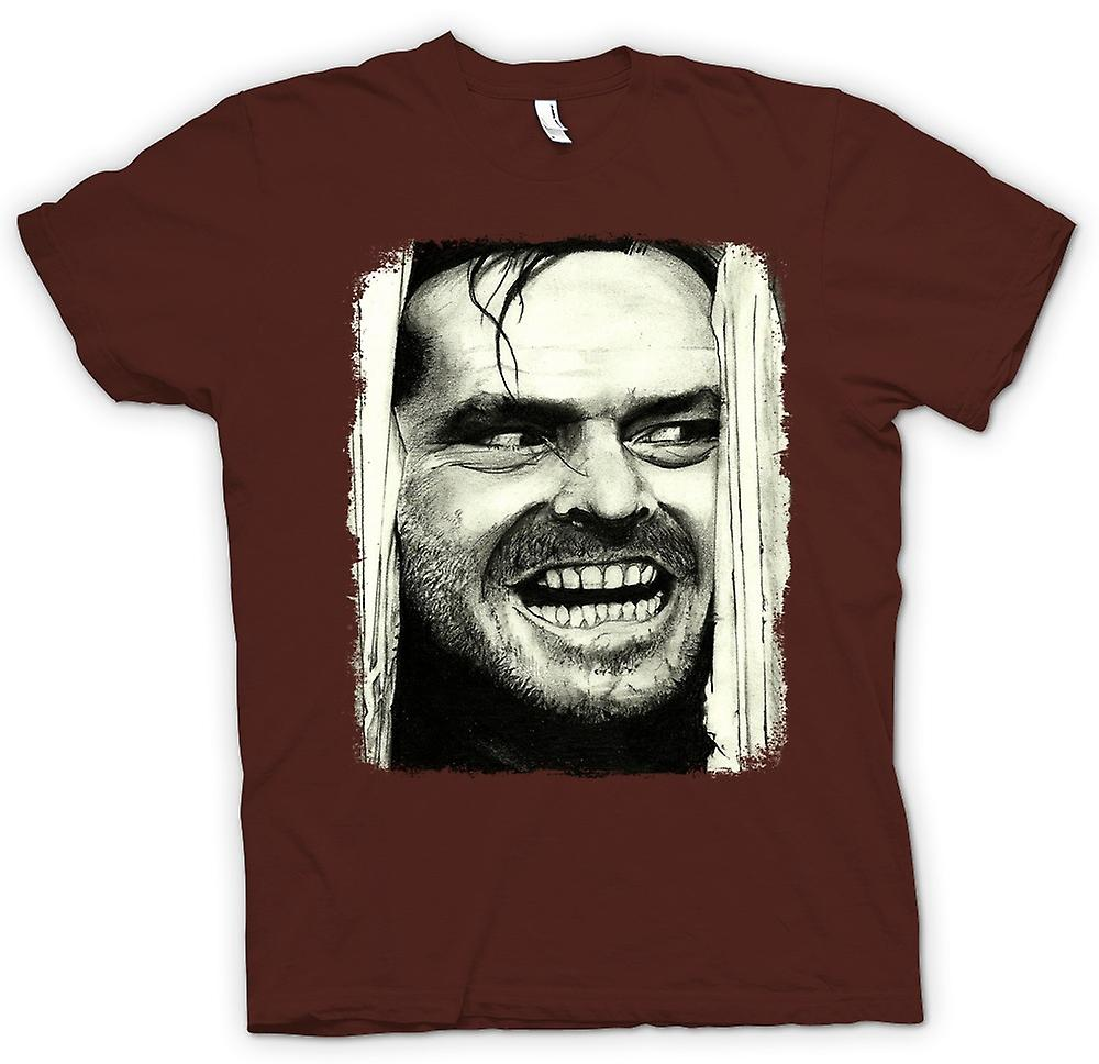 Mens t-shirt - Shining - Jack Heres Johnny