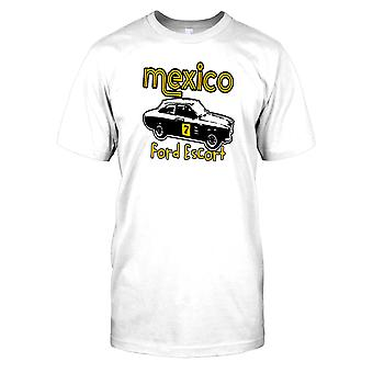 Mexico Ford Escort - Classic Car Kids T Shirt