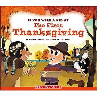Si vous étiez un enfant lors du premier dîner de Thanksgiving