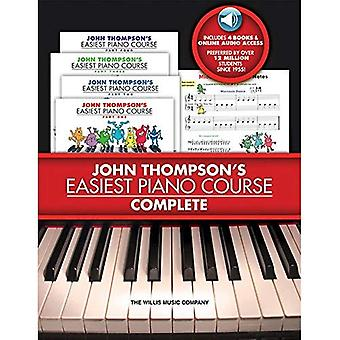 John Thompson's Easiest Piano Course - Complete [With 4 CDs]