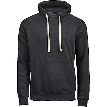 Tee Jays Mens Vintage Lightweight Hooded Sweatshirt