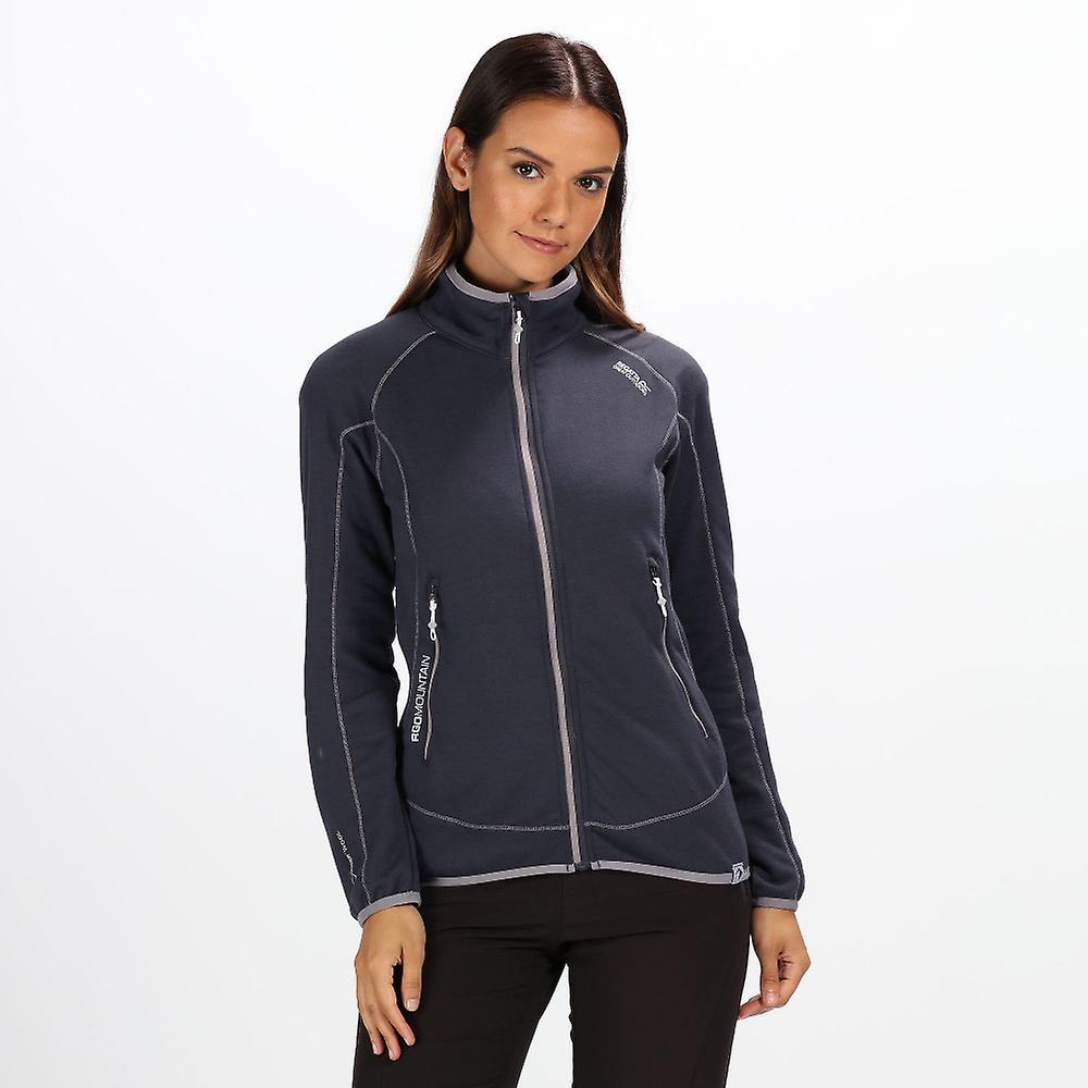 Régate femmes Harva Full Zip mélange Polyester Fleece de marche