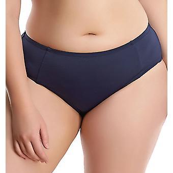 Elomi Essentials Es7524 Mid Rise Bikini Brief Midnight (Mih) Cs