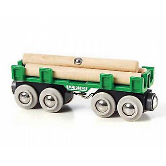 BRIO Lumber Loading Wagon Wooden Toy