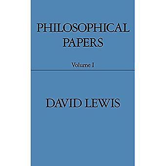 Philosophische Beiträge: Band 1