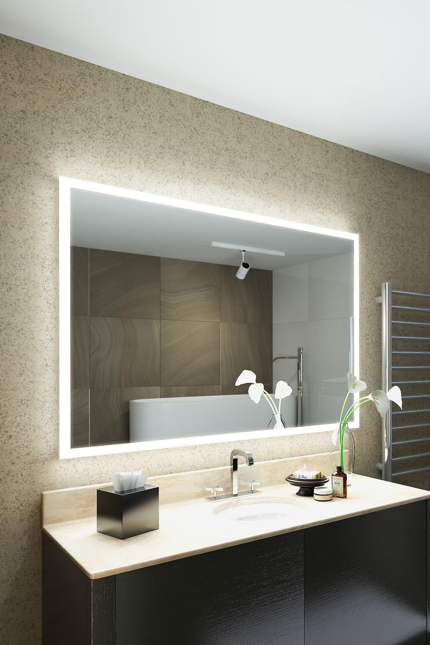 RGB Audio Shaver Mirror with bleutooth Demist Sensor K8402hrgbaud