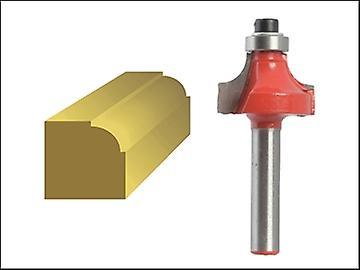 Faithfull Router Bit TCT Ovolo 13,3 mm 1/4 de queue