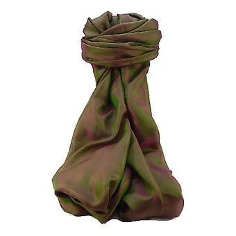 SINDHU Varanasi seda largo bufanda patrimonio alcance 4 por Pashmina y seda