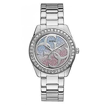 Guess watch G TWIST W1201L1 - shows steel Rose and blue swallow wife