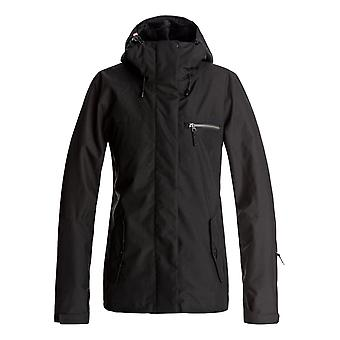 Roxy Womens Jetty 3N1 Snow Ski Jacket Snow Ski Jacket - True Black
