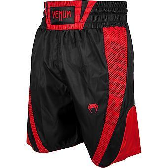 Venum Elite Boxing Shorts - schwarz/rot