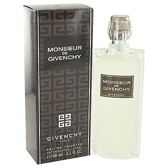 Monsieur Givenchy by Givenchy Eau De Toilette Spray 3.4 oz / 100 ml (Men)