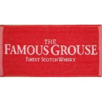 Famoso Grouse whisky Bar de algodón toalla 500 x 225 mm (pp)